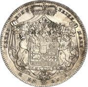 1 conventionsthaler Ludwig Friedrich Karl – revers