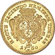 1 Ducat - Johann Friedrich II – revers