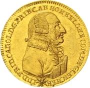 1 Ducat - Ludwig Friedrich Karl – avers