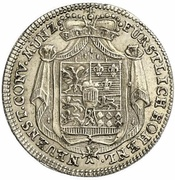 10 Kreuzer - Ludwig Friedrich Karl – avers