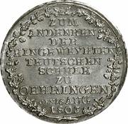 10 Kreuzer - Ludwig Friedrich Karl – revers