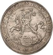 1 Thaler - Johann Friedrich I – avers