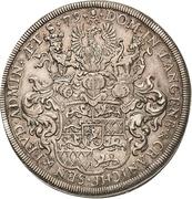 1 Thaler - Johann Friedrich I – revers