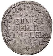 1/12 Thaler - Ludwig Gustav – revers