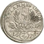 4 Kreuzer - Ludwig Gustav – revers
