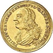 1 Ducat - Philipp Ernst – avers