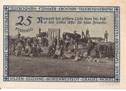 25 Pfennig (Hohenwestedt) – revers