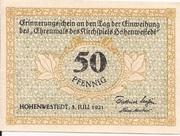 50 Pfennig (Hohenwestedt) – avers