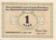 1 Mark (Hohenwestedt) – avers