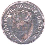 6 Kreuzer - Friedrich Wilhelm Constantin – avers