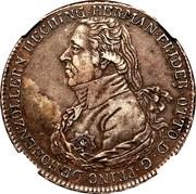 1 Thaler - Hermann Friedrich Otto – avers