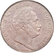 2 Thaler / 3½ Gulden - Friedrich Wilhelm Constantin – avers
