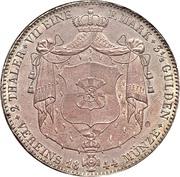 2 Thaler / 3½ Gulden - Friedrich Wilhelm Constantin – revers