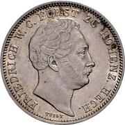 ½ Gulden - Friedrich Wilhelm Constantin – avers
