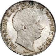 1 Gulden - Friedrich Wilhelm Constantin – avers