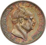½ Gulden - Friedrich Wilhelm IV – avers