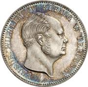 1 Gulden - Friedrich Wilhelm IV – avers