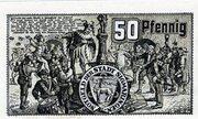 50 Pfennig (Sigmaringen) – revers