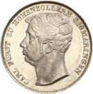 1 Gulden - Carl – avers