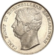 1 Gulden - Carl – avers