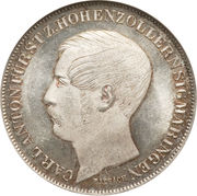 1 Gulden - Carl Anton – avers