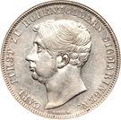 2 Thaler / 3½ Gulden - Carl – avers