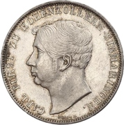 2 Thaler / 3½ Gulden - Karl – avers