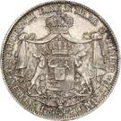 2 Thaler / 3½ Gulden - Karl – revers