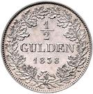½ Gulden - Carl – revers