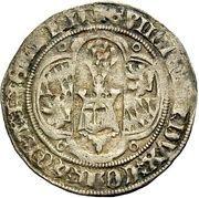 1 Gros Guillhaume V. de Bavière (Behelmter Groschen) – avers