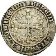 1 Gros Guillhaume V. de Bavière (Behelmter Groschen) – revers