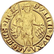 1 florin d'or Guilhaume V. de bavière – avers