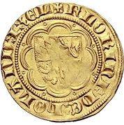 1 florin d'or Guilhaume V. de bavière – revers