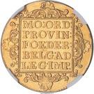 2 Ducats - Louis Napoleon - Utrecht – revers