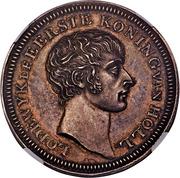 50 Stuivers - Louis Napoleon (Pattern) – avers