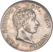 50 stuivers Louis Napoléon -  avers