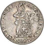 1 Rijksdaalder - Louis Napoleon – avers