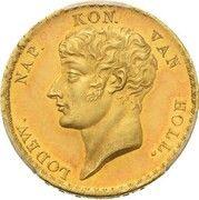 20 Gulden - Louis Napoleon – avers