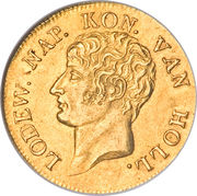 1 Ducat - Louis Napoleon -  avers
