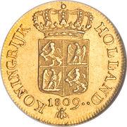 1 Ducat - Louis Napoleon -  revers