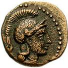 Bronze Æ12 (Holmoi) – avers