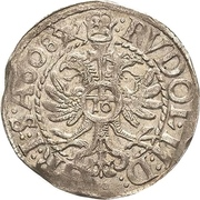 1/16 Thaler - Ernst III. – revers