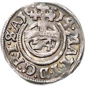 1 Groschen - Ernst III. – revers