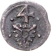 4 Pfennig - Ernst III. – avers