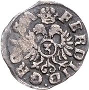 3 Kreuzer - Ernst III. (Kipper) – revers