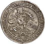 ½ Thaler - Ernst III. – revers