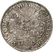 1½ thaler Adolf XIII. – avers