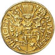 1 goldgulden Ernst III – avers