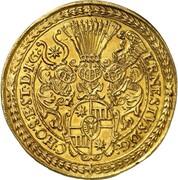 10 ducats Ernst III – avers