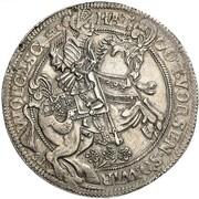 1½ thaler Ernst III – revers
